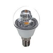 5W E14 Luces LED en Vela G45 1 COB 420 lm Blanco Fresco Decorativa AC 100-240 V 1 pieza