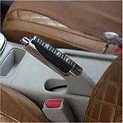 新車ハンドブレーキグリップ黒ABS +ラインストーンハンドブレーキカバーの装飾