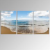 Abstracto / Fantasia / Lazer / Paisagem / Fotografia / Moderno / Romântico / Pop Art Impressão em tela 3 Painéis Pronto para pendurar ,