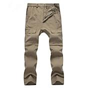 Hombre Shorts para senderismo Impermeable Mantiene abrigado Secado rápido Listo para vestir A Prueba de Golpes Prendas de abajo para