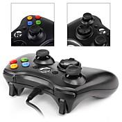 Xbox360 / PC - # - X3-PC001BW - Empuñadura de Juego - Metal / ABS - USB - Adaptador y Cable - Xbox360 / PC