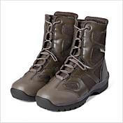 Zapatillas de Senderismo Zapatos de Montañismo Hombres A prueba de resbalones Amortización Resistencia al desgaste Al aire libreCuero