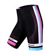 WOSAWE Pantalones Acolchados de Ciclismo Mujer Bicicleta Shorts/Malla corta Pantalones Cortos Acolchados Prendas de abajoTranspirable