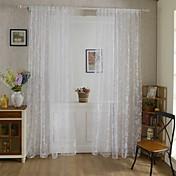 Et panel Vindue Behandling Rustik Stue Polyester Materiale Gardiner forhæng Hjem Dekoration For Vindue
