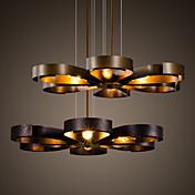 Lámparas Colgantes ,  Retro Pintura Característica for Mini Estilo MetalSala de estar Dormitorio Comedor Cocina Baño Habitación de