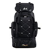 60 L mochila Mochila para Excursão Pacotes de Mochilas Mochilas de Laptop Bagagem Organizador de ViagemCaça Pesca Acampar e Caminhar