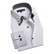 JamesEarl 男性 シャツカラー ロング シャツ&ブラウス アイボリー - BA102050525