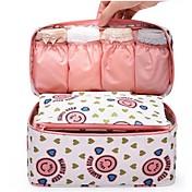 Bolsas de Almacenamiento Textil conCaracterística es Con Tapa / Abierta / Viaje , Para Joyas / Ropa Interior