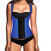 látex de la mujer bajo pecho deporte faja de cintura corsé de la cintura de la talladora