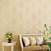 Floral 3D Papel de Parede Para Casa Contemporâneo Revestimento de paredes , Não-tecido de papel Material Auto-adesivo papel de parede ,