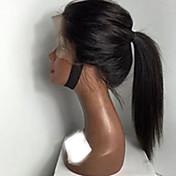 Mujer Pelucas de Cabello Natural Brasileño Cabello humano Encaje Completo Encaje Frontal Frontal sin Pegamento Integral sin Pegamento 130%