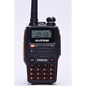 宝豊 ハンドヘルド / デジタル UV-5R UP FMラジオ / 音声プロンプト / デュアルバンド / デュアルディスプレイ / デュアルスタンバイ / LCDディスプレイ / CTCSS/CDCSS 1.5KM-3KM