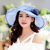 Mujer Sombrero Floppy Vintage / Bonito / Casual-Primavera / Verano-Algodón / Encaje