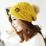 Mujer Gorra de Repartidor Bonito / Casual-Otoño / Invierno-Punto