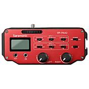 SR-PAX2 Rojo 9V Battery micrófono del estudio
