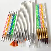 Uñas kit del cepillo SalonTool de uñas Nail Art Maquillaje