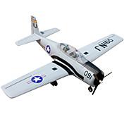 T28 Trojan 5 Canales 2.4G 1: 8 Avión de radiocontrol  50KM / H Necesita Un Poco de Ensamblaje