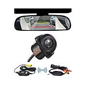 Rear View Camera-CMOS Colorido de 1/3 polegadas-170°-480 Linhas TV