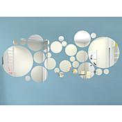 3D Pegatinas de pared Calcomanías de Aviones para Pared / Adhesivos de Pared Espejo Calcomanías Decorativas de Pared,Acrylic Material