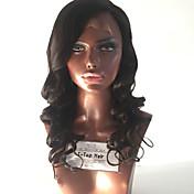 Mujer Pelucas de Cabello Natural Cabello humano Encaje Completo Encaje Frontal Integral sin Pegamento Frontal sin Pegamento 130% Densidad