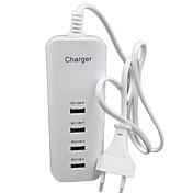 iPhone 6 / 6S 6plus / 6splusのipad2 / 3/4 /ミニサムスンや他の人のため4port USBホーム充電器