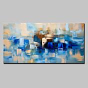 手描きの 抽象画 横式,近代の 1枚 キャンバス ハング塗装油絵 For ホームデコレーション