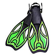 ダイビングフィン 防水 光る 保護 サイズ調整機能 ロングフィン ダイビング&シュノーケリング 水泳 ゴム