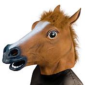 ハロウィン用マスク ハロウィーン小道具 アニマルマスク ハロウィーングッズ 馬の頭 ホラーテーマ
