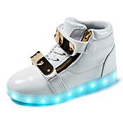 Chico Zapatos Sintético Primavera Otoño Invierno Botas de Moda Zapatos con luz Botas Paseo Hebilla Con Cordón Para Deportivo Casual
