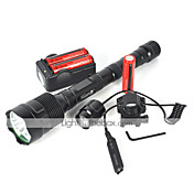 Linternas LED LED 6000 Lumens 1 Modo Cree XM-L T6 Adecuadas para Vehículos para Camping/Senderismo/Cuevas Ciclismo Viaje Múltiples