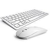 drahtlose Tastatur-Maus-Kamm stumm kein Licht Schokolade Maus und Tastatur b.o.w hw098 ergonomische