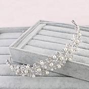 Mujer Diamantes Sintéticos Celada-Boda Ocasión especial Oficina Tiaras 1 Pieza