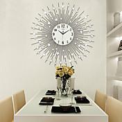 Moderno/Contemporáneo Casas Reloj de pared,Otros Acrílico / Vidrio / Metal 65*65cm Interior Reloj