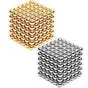 磁石玩具 432 小品 3MM Magnetic Balls 216PCS *2,Golden&Silver 2 Color Mixed in 1 Box,Diameter 3 MM ストレス解消 DIYキット 磁石玩具 ブロックおもちゃ 3Dパズル マジック・手品用品