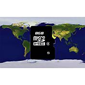 tarjeta micro de 8g micro sd (negro)