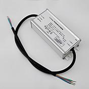 100ワットは、ストリート用のスイッチング電源ドライバーをLED照明/(入力/ DC48V出力ac90-295v)記号のアプリケーションを動かす/ CC / IP67 / PFCを主導