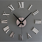 Moderno/Contemporáneo / Retro Vacaciones / Inspirador / Familia / Dibujos Animados Reloj de pared,Redondo / NovedadAcrílico / Vidrio /