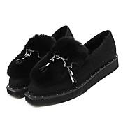 MujerOthers-Zapatos de taco bajo y Slip-Ons-Casual-Otra Piel de Animal-Negro / Gris