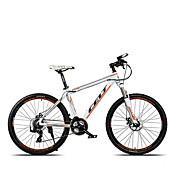 Bicicleta de Montaña Ciclismo 24 Velocidad 26 pulgadas/700CC Hombre Aceite para Frenos de Disco Horquilla de suspenciónCuadro de Aleación