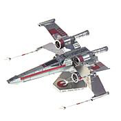 3Dパズル ギフトのため ブロックおもちゃ プラモデル&組み立ておもちゃ 戦闘機 メタル 14歳以上 ピンク おもちゃ