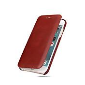Para iPhone X iPhone 8 iPhone 8 Plus iPhone 7 iPhone 7 Plus iPhone 6 Carcasa Funda Ultrafina Cuerpo Entero Funda Color sólido Dura Cuero