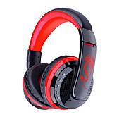 OVLENG MX666 ヘッドホン(ヘッドバンド型)Forメディアプレーヤー/タブレット 携帯電話 コンピュータWithマイク付き DJ ボリュームコントロール FMラジオ ゲーム スポーツ ノイズキャンセ Hi-Fi 監視 Bluetooth