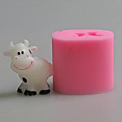 Molde Animal Para Bolo / Para Chocolate / Other / para Candy SiliconeAnti-Aderente / Ecológico / Aniversário / Férias / Ano Novo / Dia de
