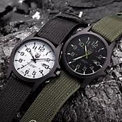 Masculino Mulheres Casal Relógio Esportivo Relógio Militar Relógio Elegante Relógio de Moda Relógio de Pulso QuartzoPunk Colorido