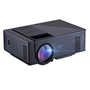 Hd1080p proyector de cine en casa 1500lumens 3d llevó av / usb / vga / sd