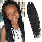 Senegal Twist pletenice Ekstenzije za kosu 20Inch Kanekalon 35 Strands (Recommended By 3 Packs for a Full Head) Nasukati 98g gramSušilo