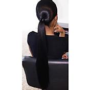 黒人女性のためのストレート人間の髪の毛のフルレースかつら
