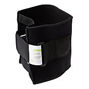 膝用サポーター スポーツサポート 調整可能 保護 ジョイントサポート ランニング バドミントン レジャースポーツ フィットネス 黒フェード