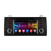 pantalla de alta definición Ownice c500 7 pulgadas 1024 * 600 de cuatro núcleos GPS para Android 6.0 del coche reproductor de DVD para BMW