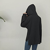 符号2017春新原宿スタイルの刺繍面白いフード付きのヘッジ長袖のセーターのコート